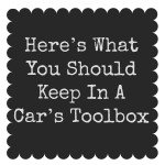 Tools to Keep in Your Car