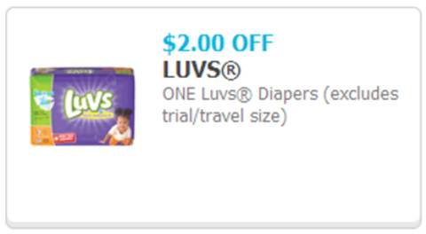 Save $2 on Luvs Diapers #SharetheLuv #ad