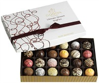 Godiva Chocolatier Ultimate Dessert Truffles Gift Box, 24 Count