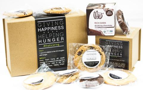 That's Caring - Cookies & Theo Hot Chocolate Gift Box