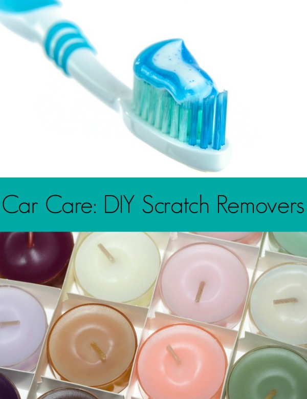 Car Care DIY Scratch Removers