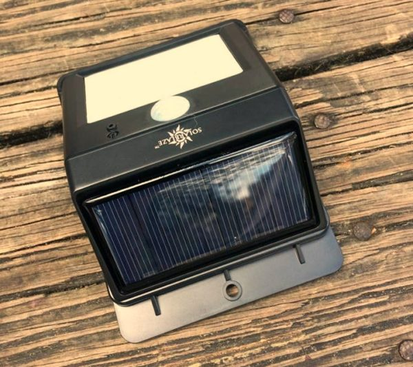 Solar Blaze Solar Light Gives You Light Were You Need It Without The Expense