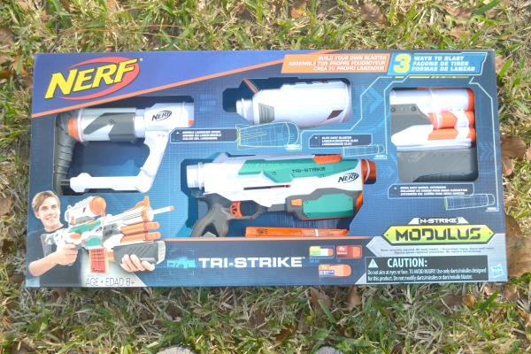 NERF N-STRIKE Modulus Tri-Strike Blaster Makes For A Great Last Minute Gift
