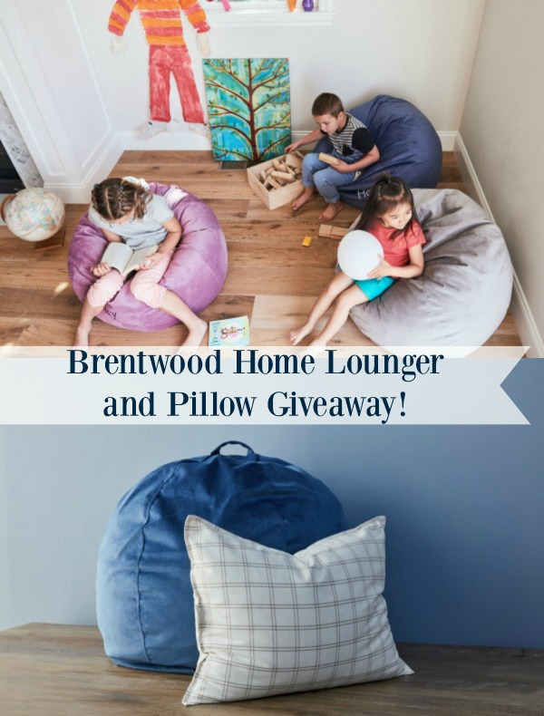 Free Cars For Low Income Families >> Brentwood Home Lounger and Pillow Giveaway