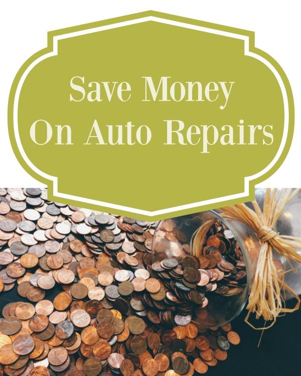 Save Money On Auto Repairs