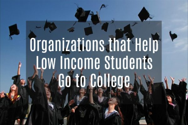 Organizations that Help Low Income Students Go to College