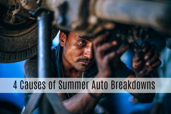 4 Causes of Summer Auto Breakdowns