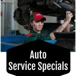 Auto Service Specials at Lustine Toyota