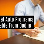 Special Auto Programs Available From Dodge