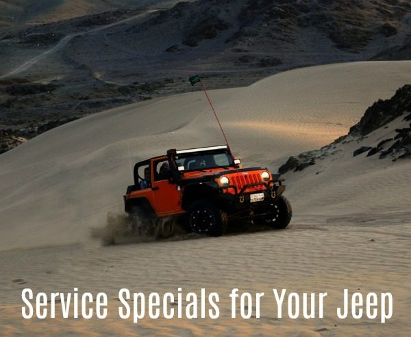 Service Specials for Your Jeep